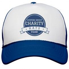 Custom Group Charity Hats