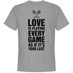 Loving Badminton