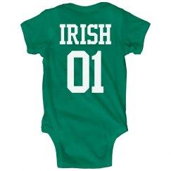St. Patrick's Day Onesie Irish