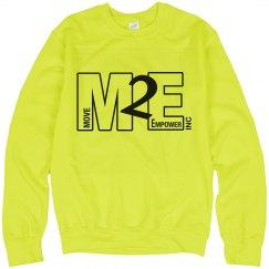 Move To Empower Unisex Neon Crewneck Sweatshirt