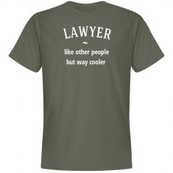 Lawyer way cooler