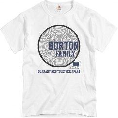 HORTON FAMILY TEE QUARANTINED