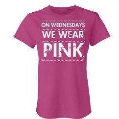 Pink Wednesdays Distress