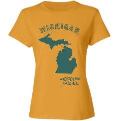 Modern Model Michigan Tshirt
