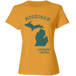 Modern Model Michigan Tshirt
