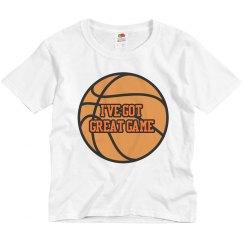 I've Got Great Game Boys Shirt