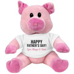 Father's Day Pig