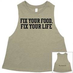text:  fix your food fix your life