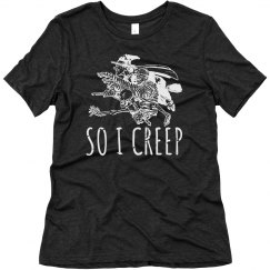 so I creep...