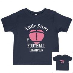 Football Little Sister