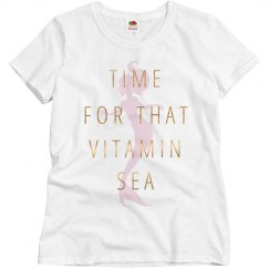Metallic Trendy Vitamin Sea