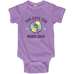 Just Too Cute For Mardi Gras