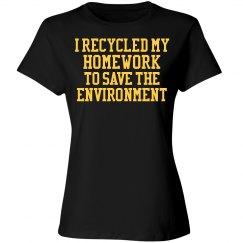Woman's Environment Homework