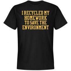 Men's Environmental Homework