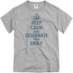 Keep Calm and Party With