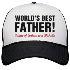 World's Best Father Hat