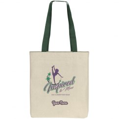 Girls i2m Competition Dance Team Logo Tote Bag