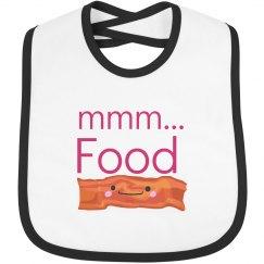 mmm... Food bib