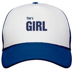 Tim's Girl Trucker Hat
