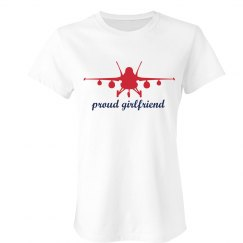 Proud Girlfriend Plane Tee