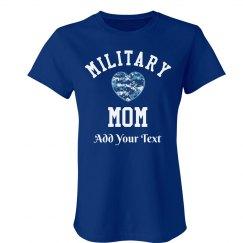 Military Mom Star Tee