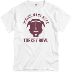 Turkey Bowl Custom Design