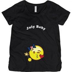 Emoji July Baby
