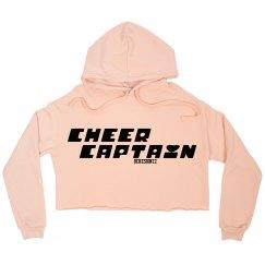 Cheer Captain Crop Hoodie