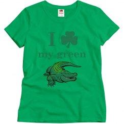 I love my green gator