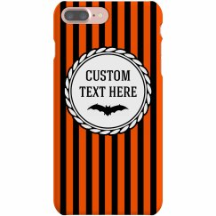 Custom Halloween Stripes Holiday