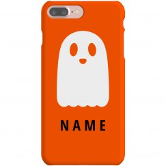 Custom Name Cute Halloween Ghost