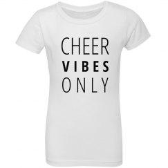 Cheer Vibes youth tee