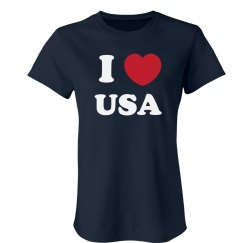 I Love My USA Sports