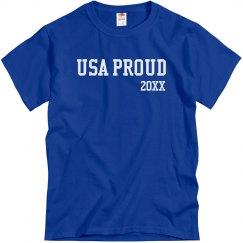 USA Proud Mens Tee