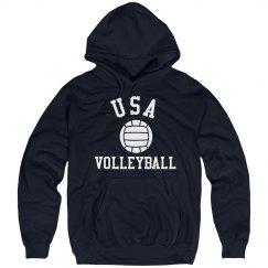 USA Volleyball Hoodie