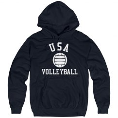 USA Volleyball Hoodie