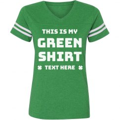 This is My Green Shirt Custom St. Patrick's Vintage Tee