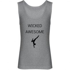 Wicked awesome gymnast