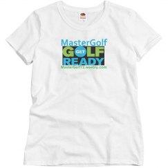 MasterGolf - Misses Fruit of the Loom Tee Shirt