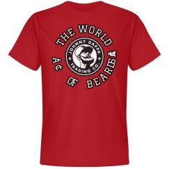 Johnny Dappa Trading Co. The World of Beards T-Shirt
