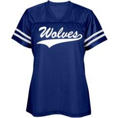 Basic wolves shirt.