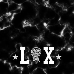 Simple LAX All Over Marble Print