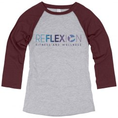 Reflexion Relaxed Fit Baseball Tee
