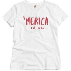Love 'Merica Pride Tee