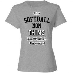 It's a softball mom thing