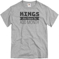 Custom Kings Born In Month