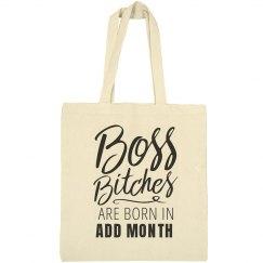 Custom Birthday Boss
