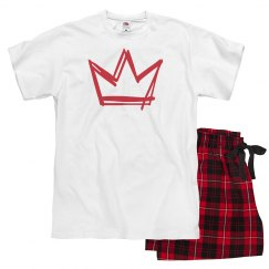Unisex Crown Pajamas