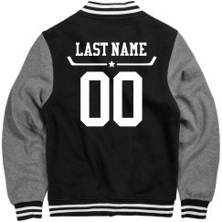 Custom Name & Number Hockey Jacket