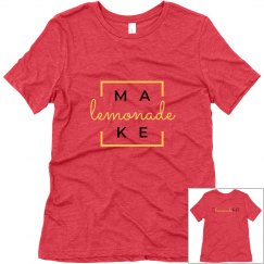 Make Lemonade Box T-shirt